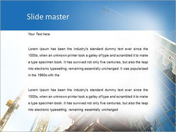 Construir arranha-céus Modelos de apresentações PowerPoint - Slide 2