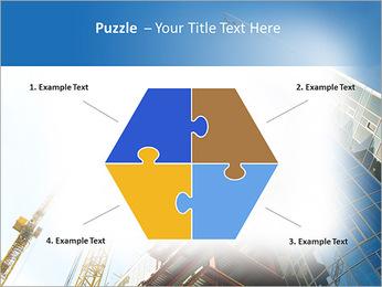 Construir arranha-céus Modelos de apresentações PowerPoint - Slide 20