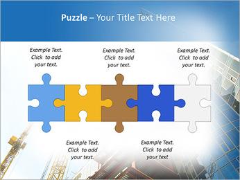 Construir arranha-céus Modelos de apresentações PowerPoint - Slide 21