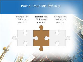 Construir arranha-céus Modelos de apresentações PowerPoint - Slide 22
