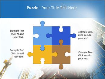 Construir arranha-céus Modelos de apresentações PowerPoint - Slide 23