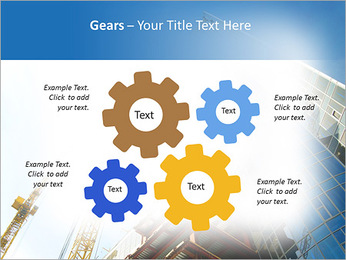 Construir arranha-céus Modelos de apresentações PowerPoint - Slide 27