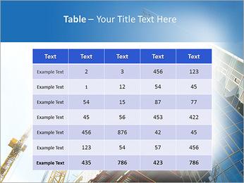 Construir arranha-céus Modelos de apresentações PowerPoint - Slide 35
