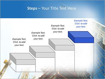 Construir arranha-céus Modelos de apresentações PowerPoint - Slide 44