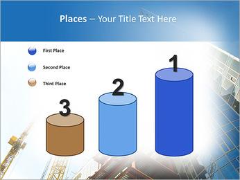 Construir arranha-céus Modelos de apresentações PowerPoint - Slide 45