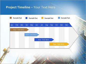 Construir arranha-céus Modelos de apresentações PowerPoint - Slide 5