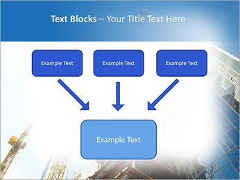 Construir arranha-céus Modelos de apresentações PowerPoint - Slide 50