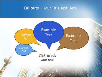 Construir arranha-céus Modelos de apresentações PowerPoint - Slide 53