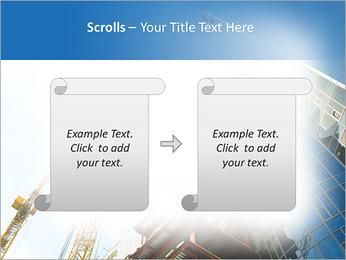 Construir arranha-céus Modelos de apresentações PowerPoint - Slide 54