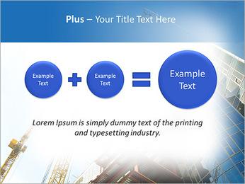 Construir arranha-céus Modelos de apresentações PowerPoint - Slide 55