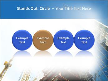 Construir arranha-céus Modelos de apresentações PowerPoint - Slide 56