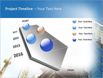Construir arranha-céus Modelos de apresentações PowerPoint - Slide 6