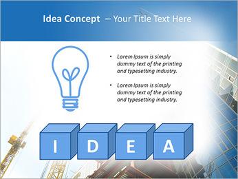 Construir arranha-céus Modelos de apresentações PowerPoint - Slide 60