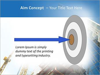 Construir arranha-céus Modelos de apresentações PowerPoint - Slide 63