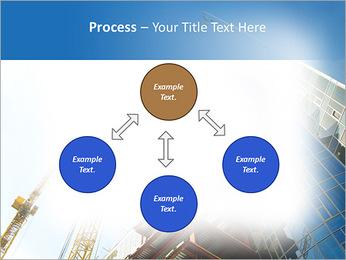 Construir arranha-céus Modelos de apresentações PowerPoint - Slide 71