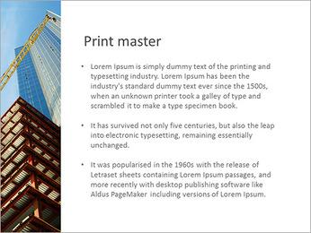 Construir arranha-céus Modelos de apresentações PowerPoint - Slide 76