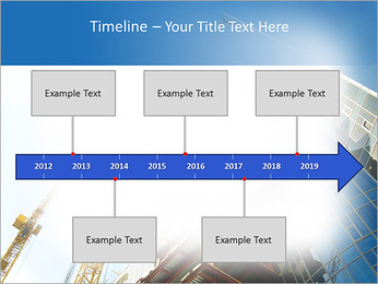Construir arranha-céus Modelos de apresentações PowerPoint - Slide 8