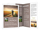 Businessman Outdoors Brochure Template