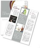 Businessman Check List Newsletter Template