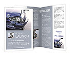Broken Car Brochure Templates