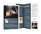 Help In Difficult Situation Brochure Template
