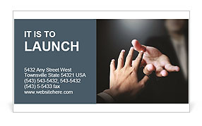 Help In Difficult Situation Business Card Template
