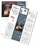 Help In Difficult Situation Newsletter Template