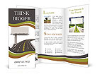 The road and the big board Brochure Templates