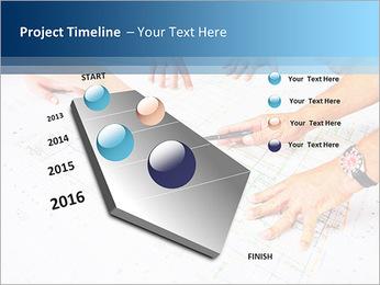 Esquema Architecht Modelos de apresentações PowerPoint - Slide 6