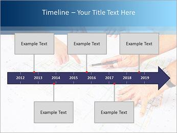 Esquema Architecht Modelos de apresentações PowerPoint - Slide 8