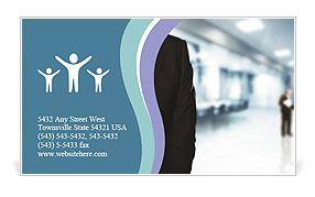 Office Clerk Business Card Template