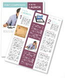 Busy Businessman Newsletter Template