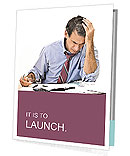 Busy Businessman Presentation Folder
