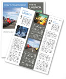 Parking Place Newsletter Templates