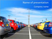 Parking Place PowerPoint Templates