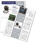 Black Fetter Newsletter Template