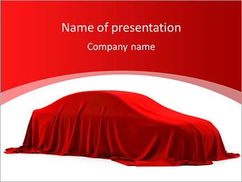 Car As Gift PowerPoint Template