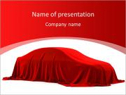 Car As Gift PowerPoint Templates