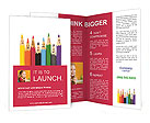 Pencil Faces Brochure Template