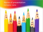 Pencil Faces PowerPoint Templates