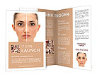 Woman's Face Brochure Templates