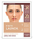 Woman's Face Poster Template