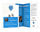 Barbell On Balloon Brochure Templates