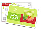 Red Apple Postcard Templates