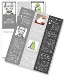 Lincoln Newsletter Template