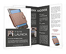Mobile Phone In Purse Brochure Template