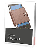 Mobile Phone In Purse Presentation Folder