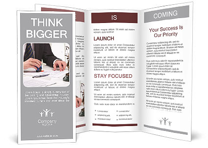 Legal brochure template design id 0000007909 for Legal brochure template