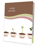 Stages Of Plant Growth Presentation Folder