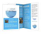 Water In Aquarium Brochure Templates